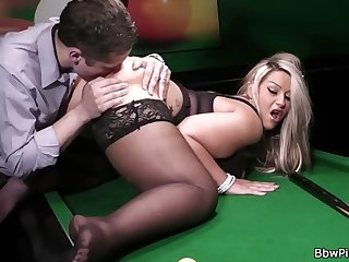 bbw rides cock after pussy and ass licking prelude