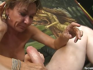 grandma's nightmare with big young cocks