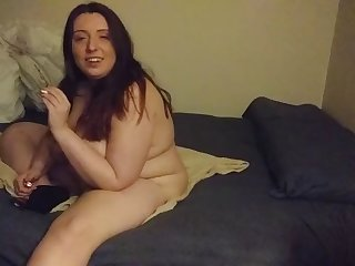 fat jenn shows wanting her sloppy body and huge  saggy soul
