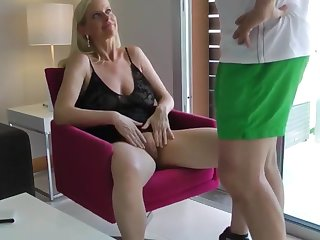 shameless mature milf loves hardcore coitus with stranger