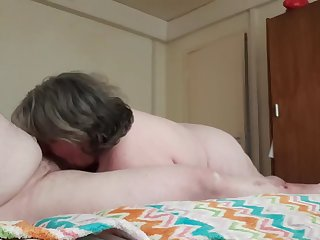 20 quid blackpool blowjob - drained by a mature bbw